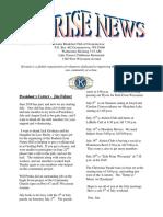 july 2016 kiwanis newsletter