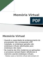 9 Memoria Virtual