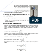 Van de Graaff Generator (Theory)