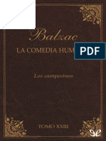 Balzac, Honore de - [La Comedia Humana (Editorial Lorenzana) 23] Los Campesinos [28006] (r1.0)