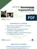 Pres 1 Normativas Organizativas
