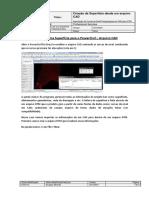 PowerCivil for Brazil SS2 - Criação de Uma Superfície Desde CAD 3D