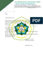 Surat Pernyataan Diterima