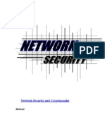 abstract on Network Security and Cryptography