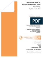 Rusticana Desktop Study Report Final Report March 2015