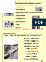 ST015 - A4 Overheads - Fall Arresters 170200