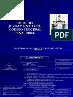 Fases Del Juicio Oral Ncpp 2004