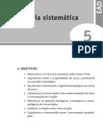 U5 - Cristologia sistemática