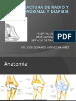 PROXIMAL Y DIAFISIS DE ANTEBRAZO.pptx