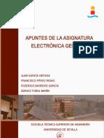 Electrónica Apuntes 2012-13