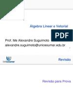 Algebra Linear Revisão prova