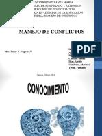 Manejo de Conflictos Etica