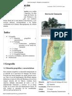 Sierras de Guasayán - Wikipedia, La Enciclopedia Libre