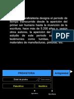 Presentación de Prehistoria PPT