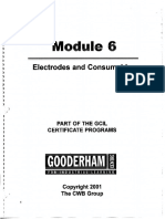 Module 6 Electrodes and Consumables