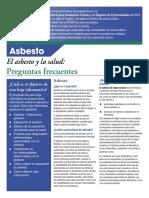 Asbesto y Salud