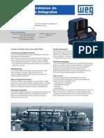 WEG Motores Sincronicos de Polos Solidos Integrales Linea Catalogo Espanol