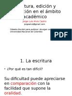 Escritura, Edición y Corrección_Primera Parte