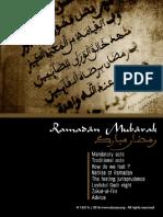 Ramadan Mubarak 2016 English