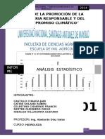 Nº03 Analisis Estadistico y Probabilidades