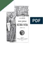 Portad Libros de Hist 1913