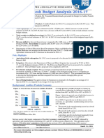 Andhra Pradesh Budget Analysis 2016-17(1)