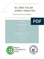 Mt. San Antonio Gardens HVAC & Solar Analyses