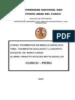 PAVIMENTOS AHULADOS Y LLANCRETO