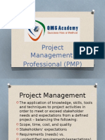 Project Management Professional by QMS Acadeny