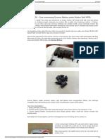 Bolt 4G - Cara Memasang Dummy Battery Pada Modem Bolt MF90ghgh