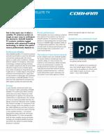 SAILOR 90 Satellite TV World Product Sheet