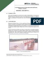 Memoria Descriptiva-Reconstrucción Puente Franco