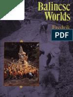 Barth, Fredrik_Balinese Worlds
