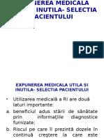 Expunerea Medicala Utila Si Inutila_1