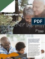 Ontario Cancer Plan IV 2015-2019