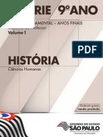 Caderno Do Professor 8ª Série 9º Ano EF Volume 1