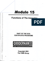 Module 15 Functions of the Inspector