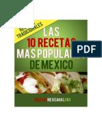 Las 10 Recetas Mas Populares de Mexico - Diana Baker