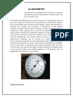 El Manómetro