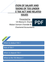 Ppt for Tds on Salary