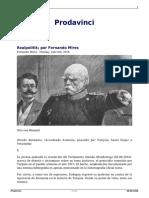 Realpolitik Por Fernando Mires