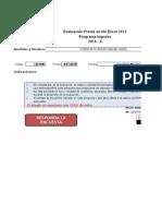Impulsa Evaluación Diagnóstica-Excel