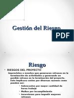Gestion de Riesgo PMBOK - 4