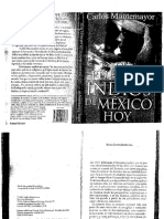 (Libro) Los Pueblos Indios de México Hoy- Carlos Montemayor 2007