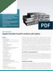 Dgs-1510 Stackable Gigabit Smartpro Series Datasheet 1