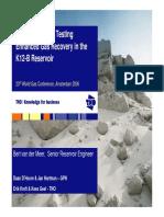 CO2 Storage Testing EGR