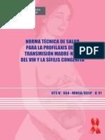 Norma Técnica Trnas. Vert- (Manual)