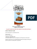 Sciences of the Quran Notes