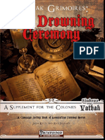 Vathak Grimoires the Drowning Ceremony
