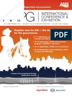 AAPG 2010 International Conference & Exhibition Announcement